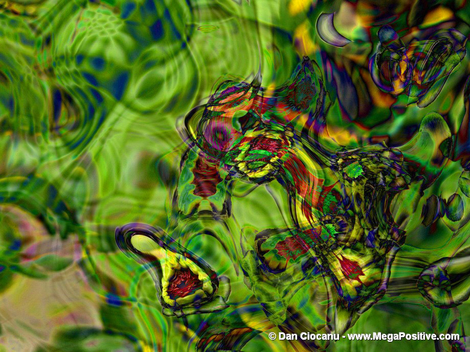 abstract art for sale - green abstract art for office